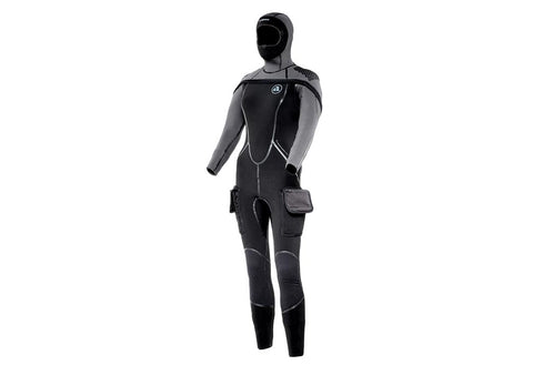 Apeks ThermiQ 8/7 Ladies Semi-Dry Wetsuits with Free Drybag