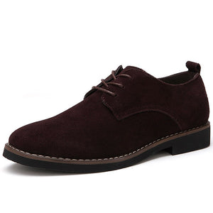 Suede Oxford Shoes