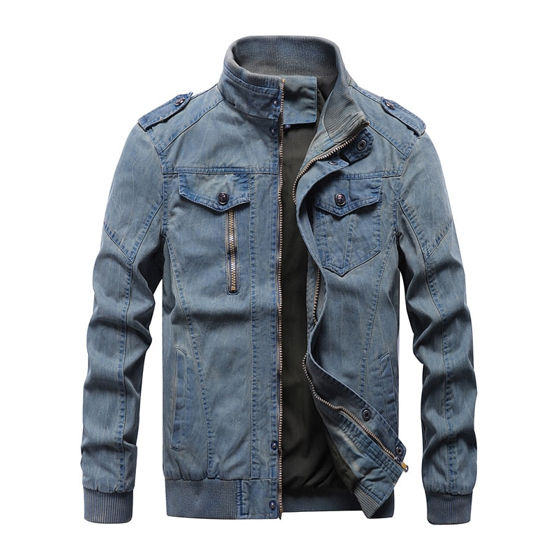 Durante Military Denim Jacket