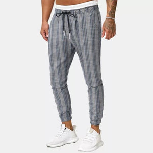 Comfortable Plaid Joggers