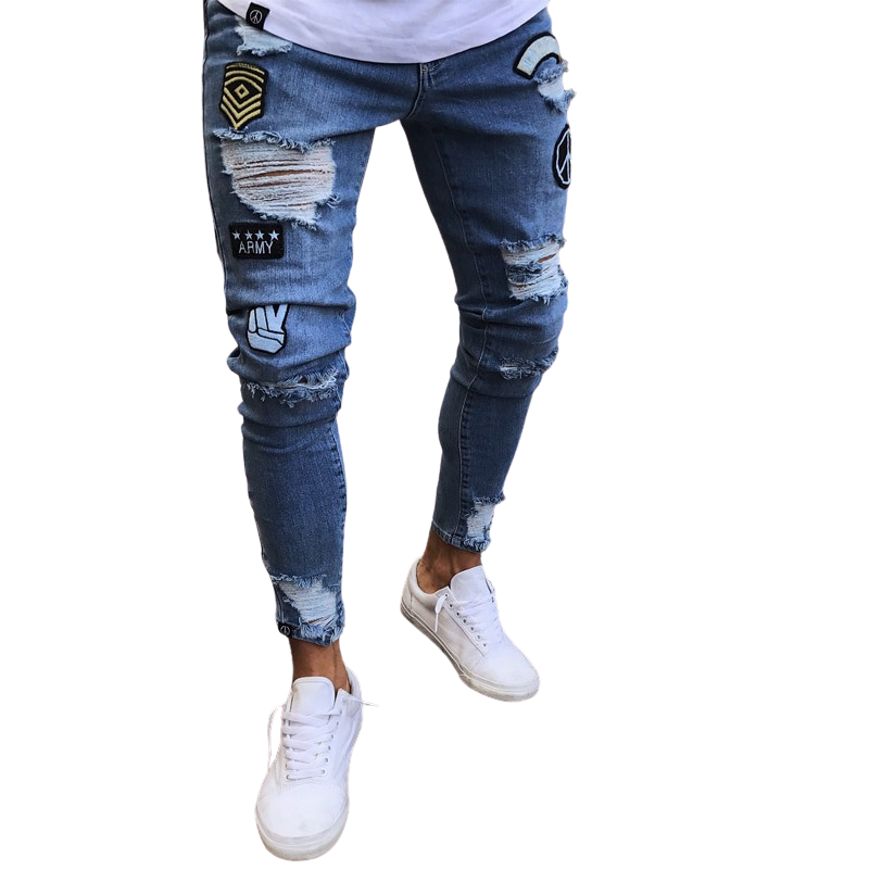 Distressed Dono Jeans