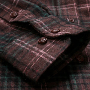 Checkered Long Sleeve Button Shirt