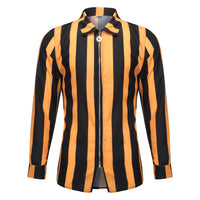 Striped Zipper Shirt