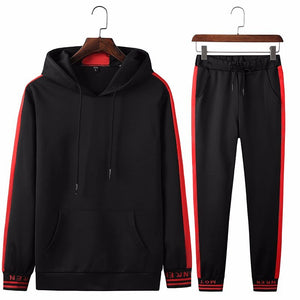 Tracksuit With Side Stripes