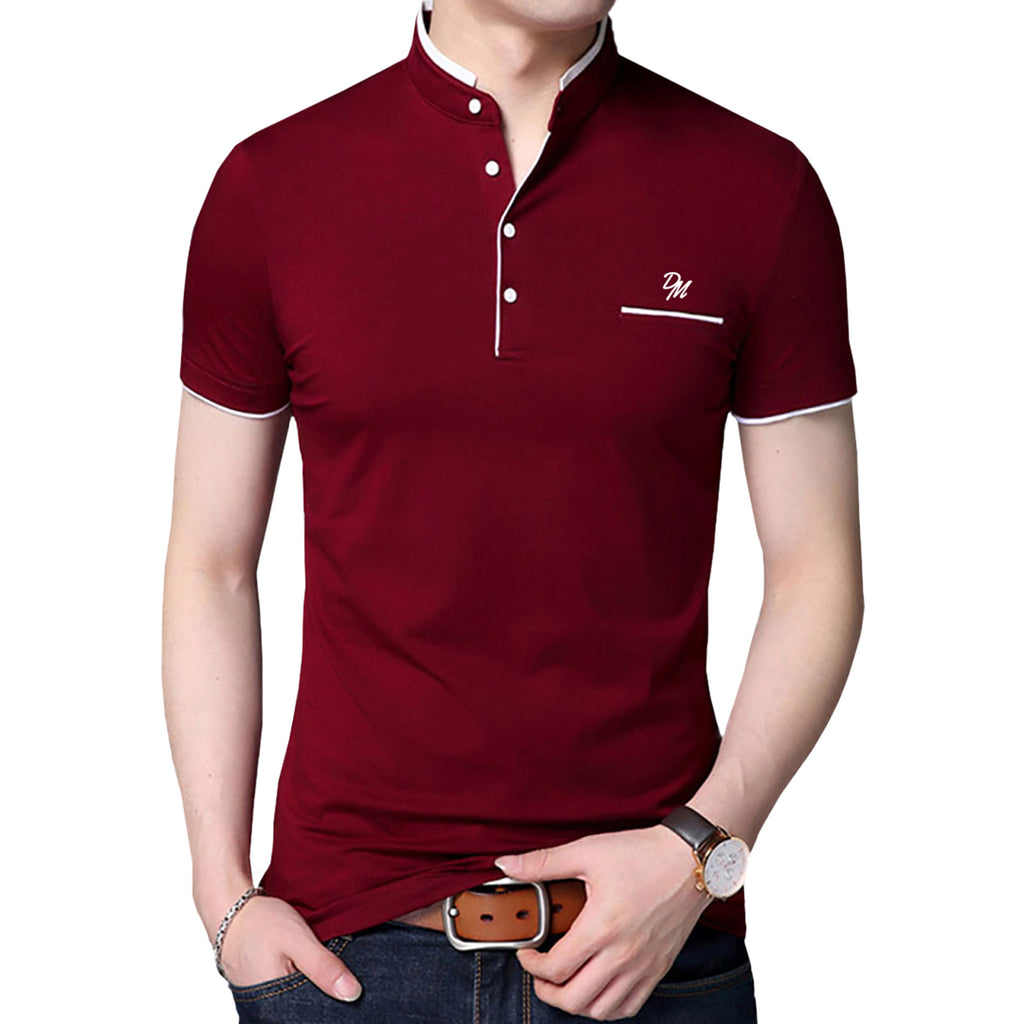 Dono Mano Embroidered Logo Polo Shirt