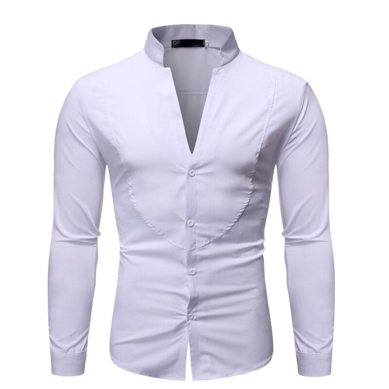 Slim Fit V-Neck Shirt