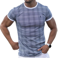 Checkered Short Sleeve T-shirt