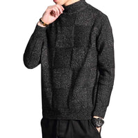 Knitted Checkered Pullover