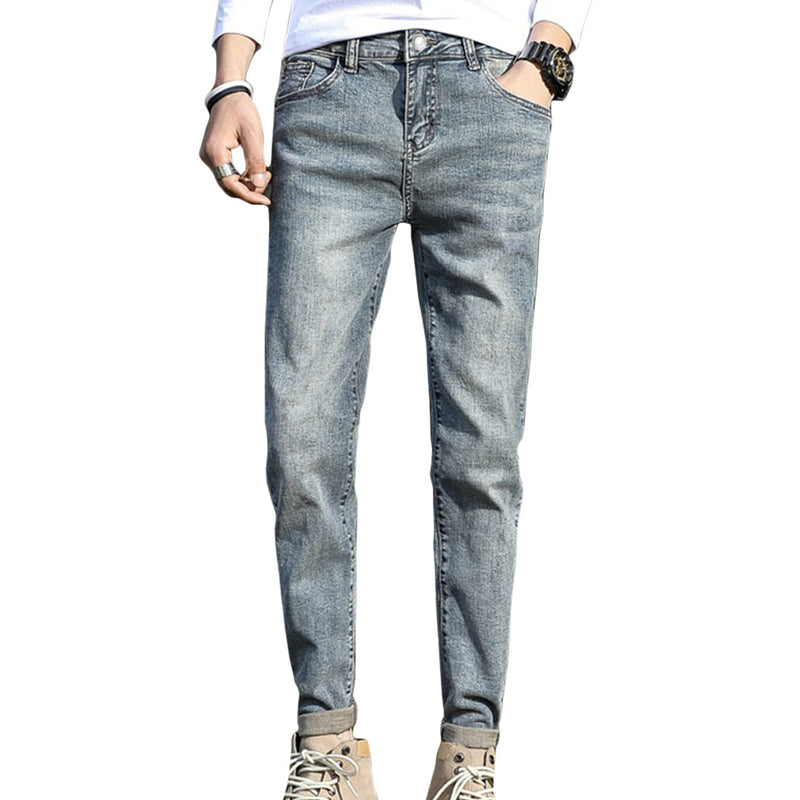 Peduzzi Solid Tapered Jeans