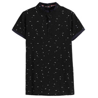 Fashionable Short Sleeve Polo Shirt