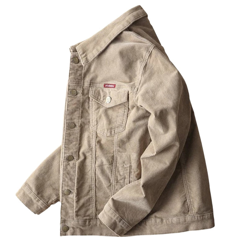 Loose Fit Corduroy Jacket
