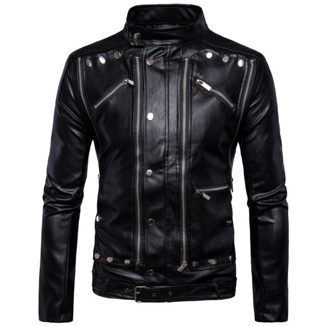 Renzo Leather Jacket
