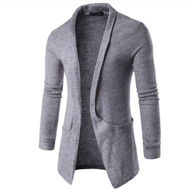 Solido Casuale Cardigan