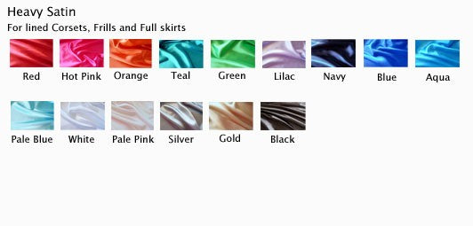 Heavy Satin Fabric