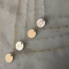 Load image into Gallery viewer, zodiac necklace (choose from 12 signs)