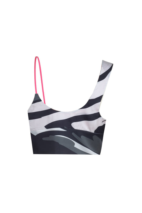 CROP TOP - ZEBRA CROP