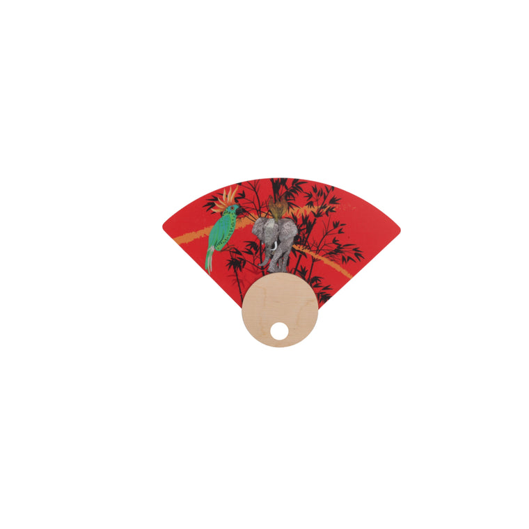 HAND FANS WITH EXCLUSIVE PATTERNS