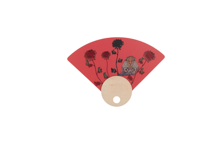 HAND FANS WITH OUR EXCLUSIVE PATTERNS