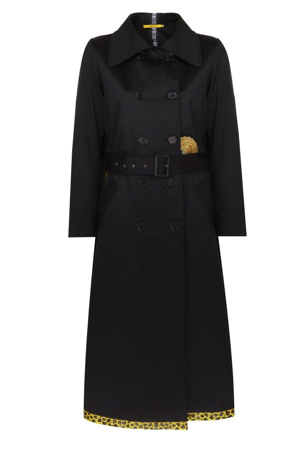 Future Feminin Black Trenchcoat -501