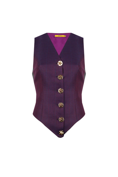 Purple Colored Vest