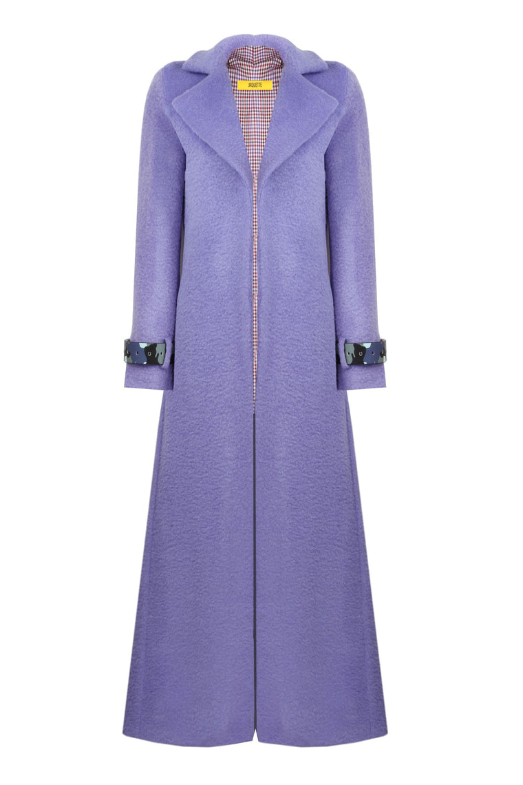 Lilac Colored 'Matrix' Coat - 322
