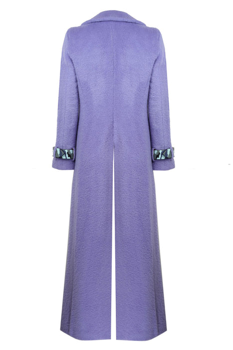 LILAC COLORED MATRIX COAT