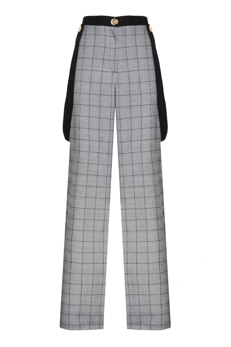 Checked Trousers - 312