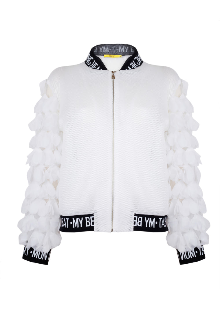 MY BEATING HEART BOMBER JACKET