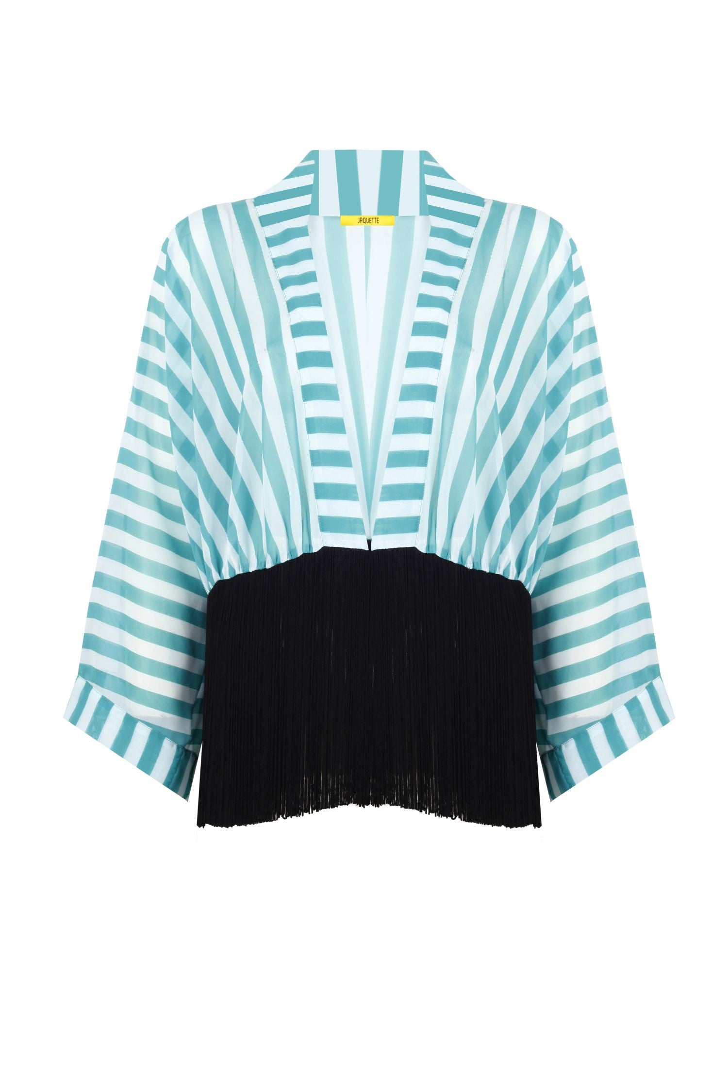 Mint Colored Mini Kimono