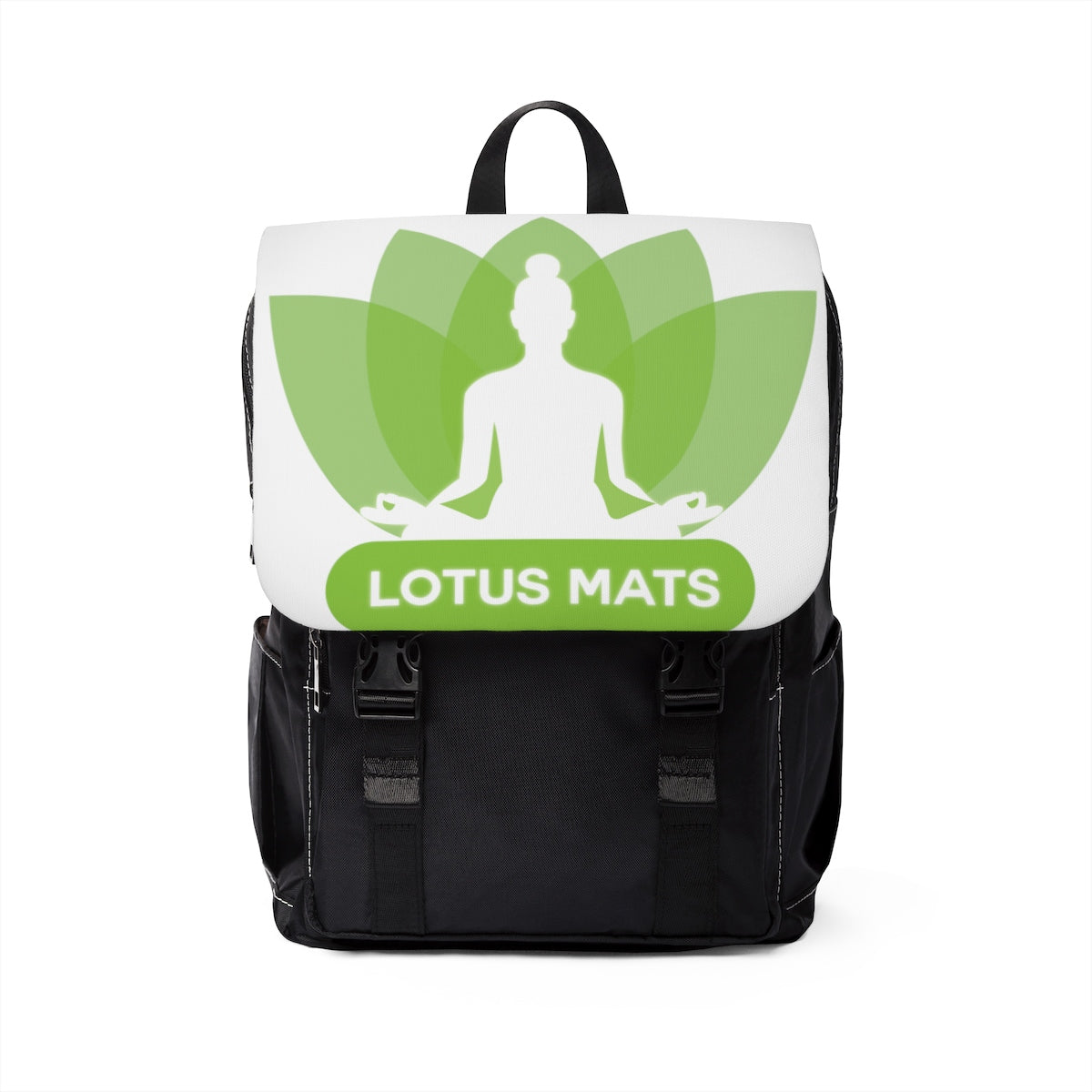 LotusMats Unisex Casual Shoulder Backpack