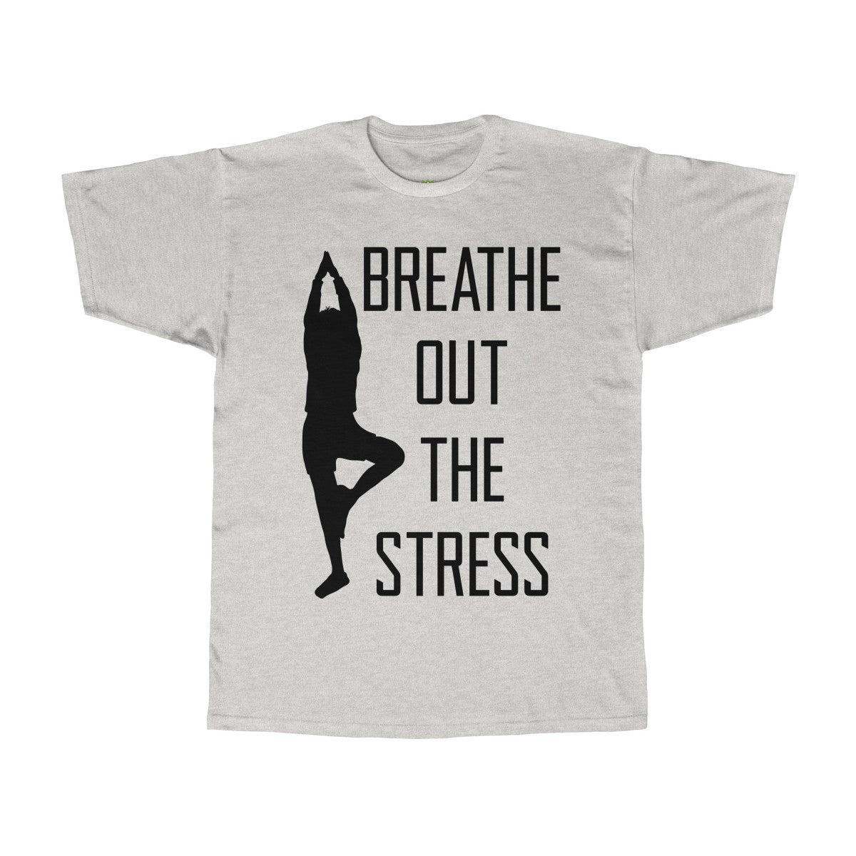 Breathe Out The Stress Unisex Adult Tee