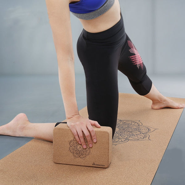 Yoga Cork Block Eco-friendly