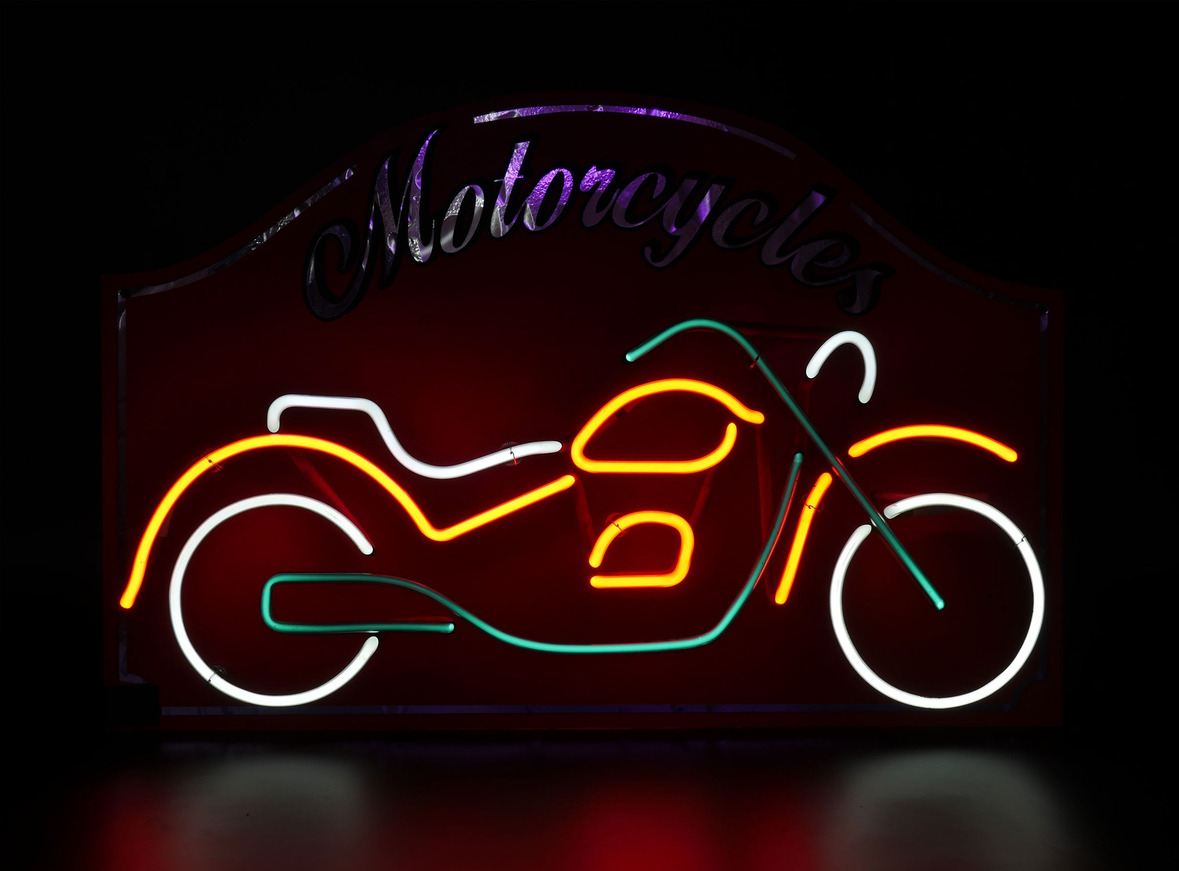 LOCATION ENSEIGNE NEON / MOTORCYCLE