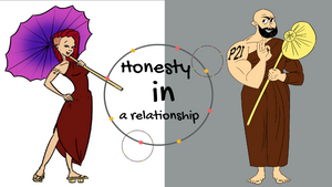 Honesty in a relationship