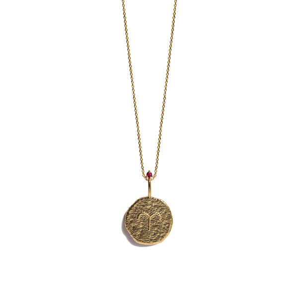 ARIES | The Gold Zodiac Necklace