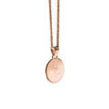 Baby Girl Necklace | Rose Gold