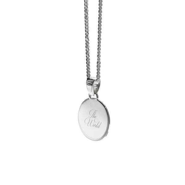 Baby Girl Necklace | Silver