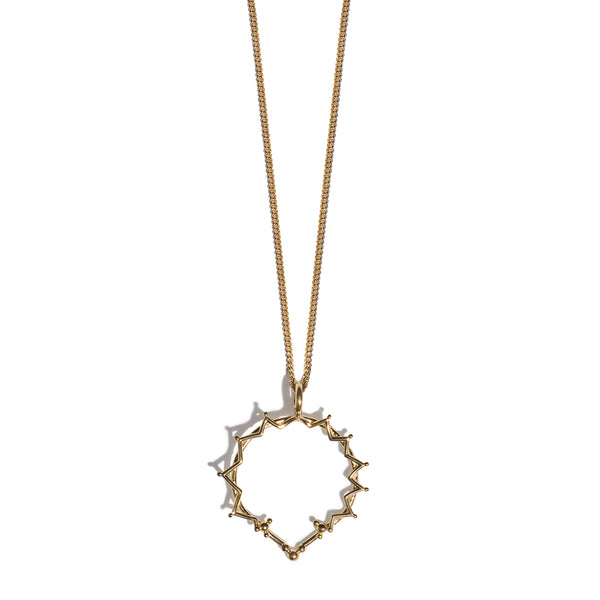 Signora Glicine | Lady Wisteria Necklace | Gold