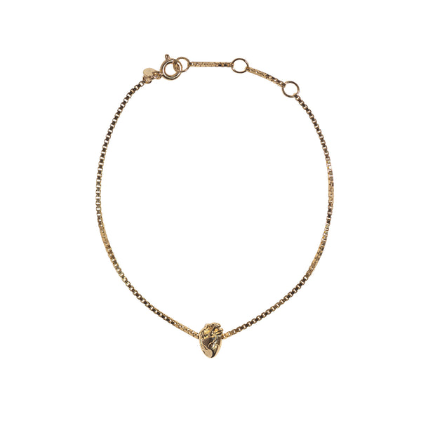 I Carry Your Heart Bracelet - Gold