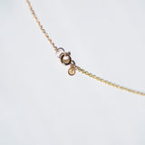 Solstizio Del Cosmo | Cosmos Solstice Shield Necklace | Gold & Rutile Quartz