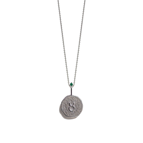 TAURUS | The Silver Zodiac Necklace
