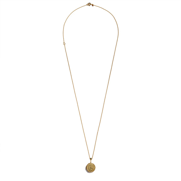 LEO | The Gold Zodiac Necklace