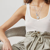 LIBRA | The Silver Zodiac Necklace