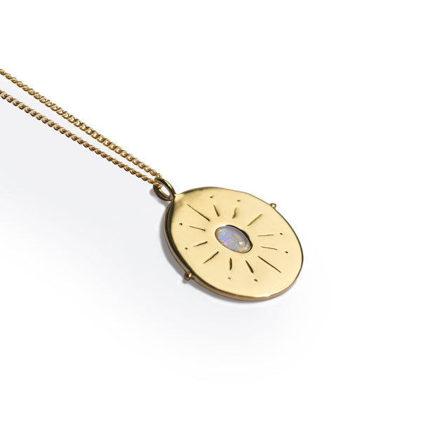 Il Vero Nord | True North Necklace | Gold