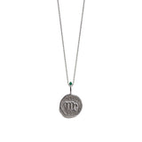 VIRGO | The Silver Zodiac Necklace