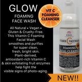 GLOW VIT C FOAMING FACIAL WASH