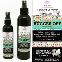 BUGGER OFF All Natural INSECT & TICK Repellent Spray