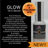 GLOW SERUM with Vit C & Hyaluronic Acid