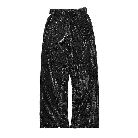Hold on, I am having a sequin moment- wide leg sequin pants as seen on 🔥 @adrianagolima