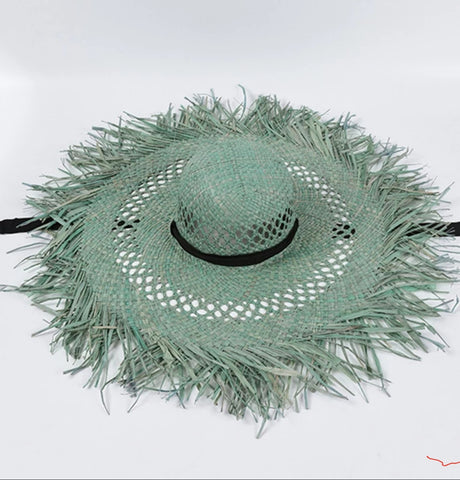 Is it summer yet? Big raffia sun hats